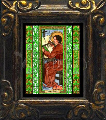 Mini Magnet Frame - St. Columba by B. Nippert