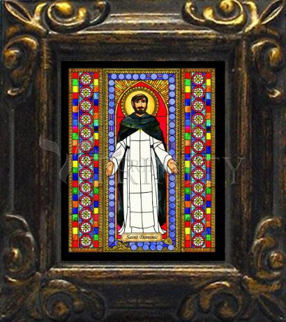 Mini Magnet Frame - St. Dominic by B. Nippert