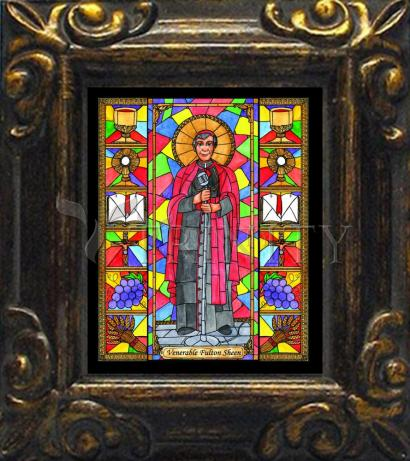 Mini Magnet Frame - Ven. Fulton Sheen by B. Nippert