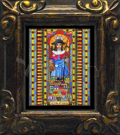 Mini Magnet Frame - Holy Child of Atocha by B. Nippert