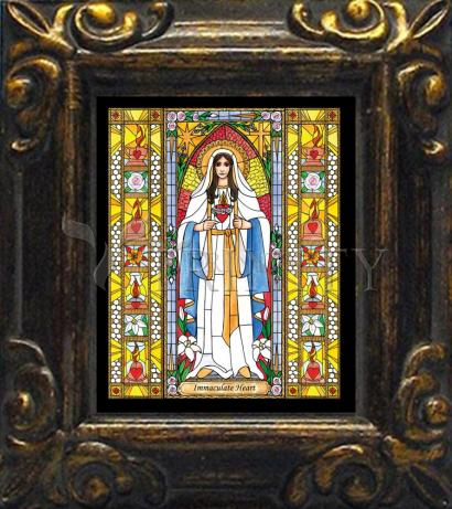 Mini Magnet Frame - Immaculate Heart of Mary by B. Nippert