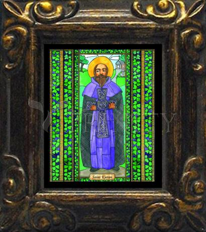 Mini Magnet Frame - St. Kieran by B. Nippert