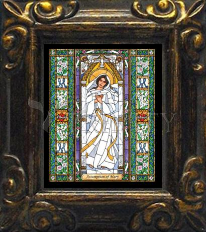 Mini Magnet Frame - Assumption of Mary by B. Nippert