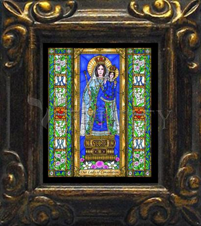 Mini Magnet Frame - Our Lady of Consolation by B. Nippert