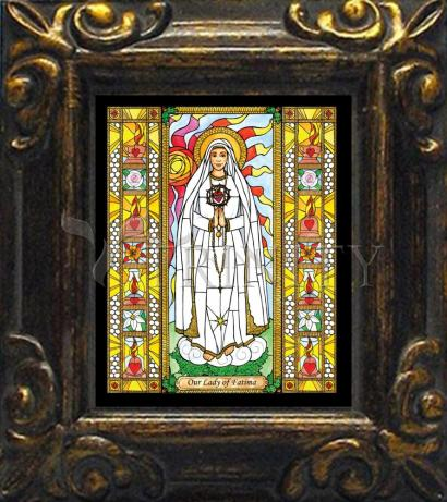 Mini Magnet Frame - Our Lady of Fatima by B. Nippert