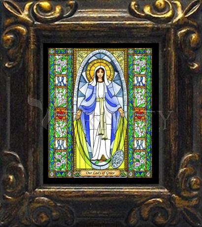 Mini Magnet Frame - Our Lady of Grace by B. Nippert