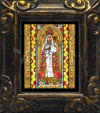 Mini Magnet Frame - Our Lady of Good Success by B. Nippert