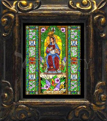 Mini Magnet Frame - Our Lady of the Milk by B. Nippert