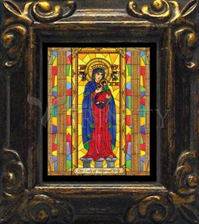 Mini Magnet Frame - Our Lady of Perpetual Help by B. Nippert