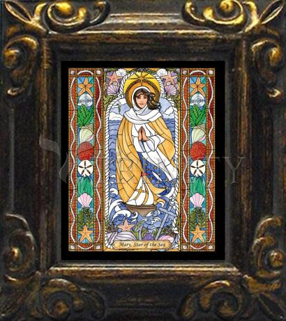 Mini Magnet Frame - Our Lady Star of the Sea by B. Nippert