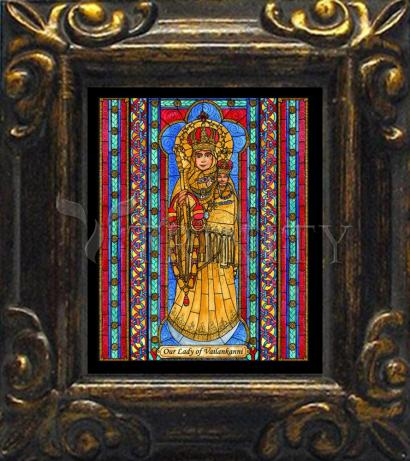 Mini Magnet Frame - Our Lady of Vailankanni by B. Nippert