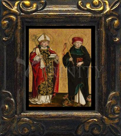 Mini Magnet Frame - Sts. Adalbert and Procopius by Museum Art
