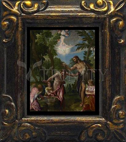 Mini Magnet Frame - Baptism of Christ by Museum Art