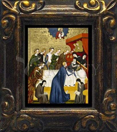 Mini Magnet Frame - Death of St. Clare of Assisi by Museum Art