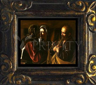 Mini Magnet Frame - Denial of St. Peter by Museum Art