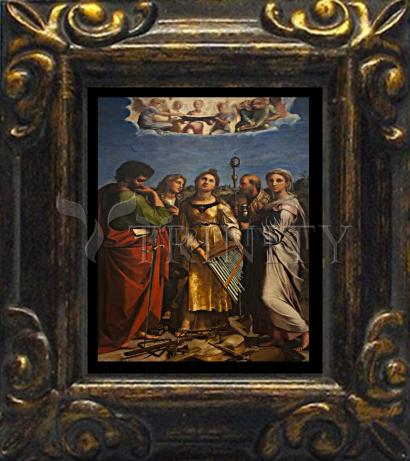 Mini Magnet Frame - Ecstasy of St. Cecilia by Museum Art