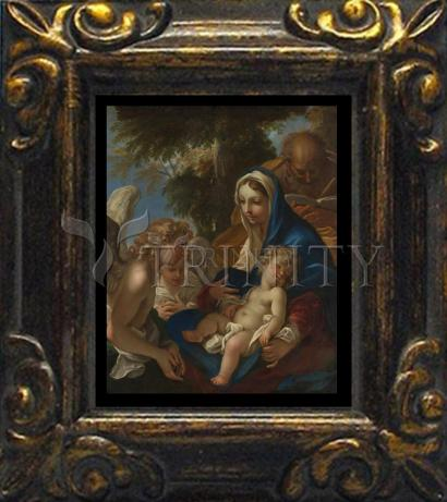 Mini Magnet Frame - Holy Family with Angels by Museum Art