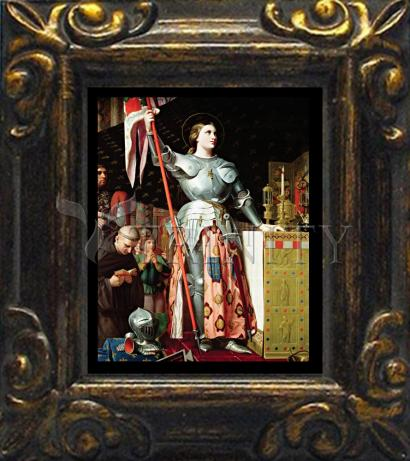 Mini Magnet Frame - St. Joan of Arc at Coronation of Charles VII by Museum Art