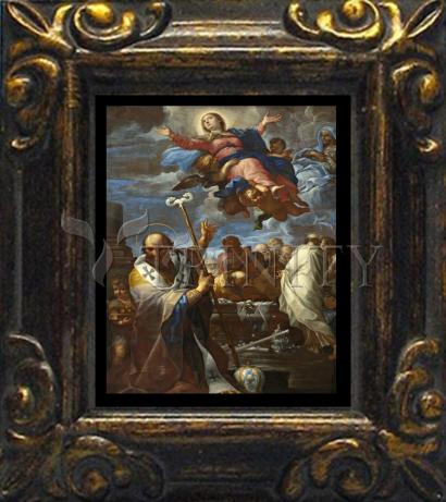 Mini Magnet Frame - Assumption of Mary with Sts. Anne and Nicholas of Myra by Museum Art