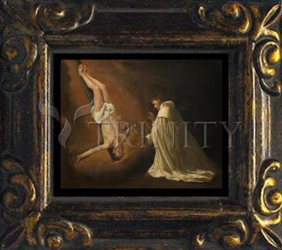 Mini Magnet Frame - Apparition of St. Peter to Saint Peter Nolasco by Museum Art