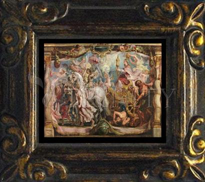 Mini Magnet Frame - Triumph of the Church by Museum Art