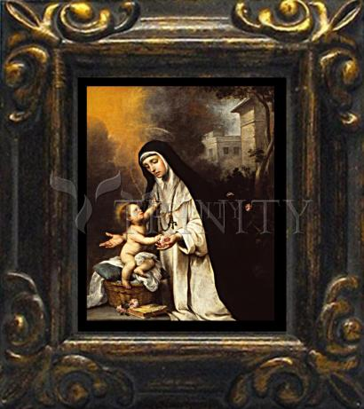 Mini Magnet Frame - St. Rose of Lima by Museum Art