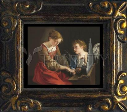 Mini Magnet Frame - St. Cecilia by Museum Art