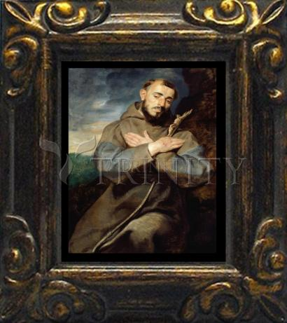 Mini Magnet Frame - St. Francis of Assisi by Museum Art