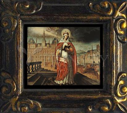 Mini Magnet Frame - St. Genevieve by Museum Art
