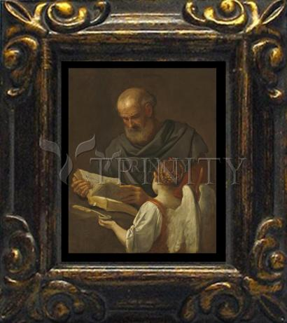 Mini Magnet Frame - St. Matthew and Angel by Museum Art