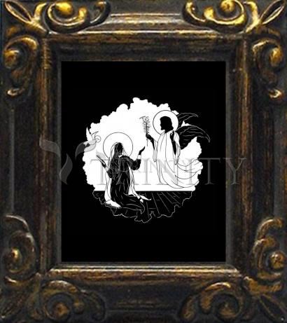 Mini Magnet Frame - Annunciation by D. Paulos