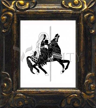 Mini Magnet Frame - Carousel Madonna by D. Paulos