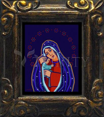 Mini Magnet Frame - Madonna and Child by D. Paulos