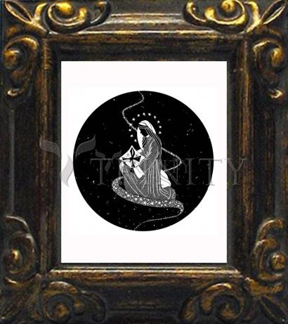 Mini Magnet Frame - Morning Star by D. Paulos