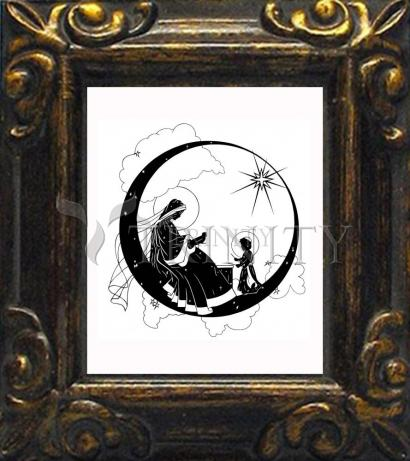 Mini Magnet Frame - Music Madonna by D. Paulos