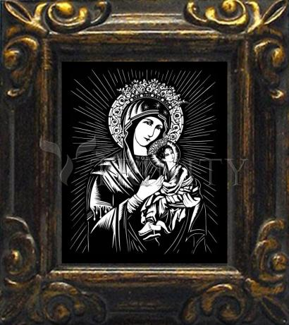 Mini Magnet Frame - Our Lady of Perpetual Help by D. Paulos