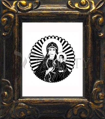 Mini Magnet Frame - Mother of Poland by D. Paulos