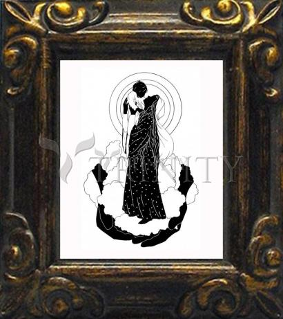 Mini Magnet Frame - He's Put The Whole World In Her Hand by D. Paulos