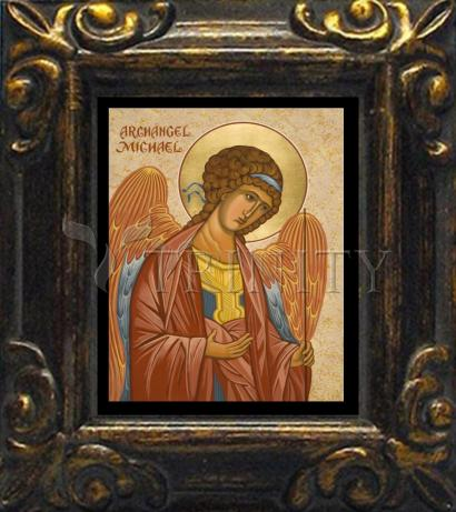 Mini Magnet Frame - St. Michael Archangel by J. Cole