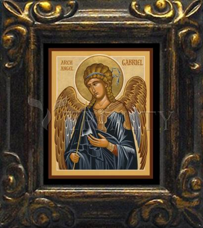 Mini Magnet Frame - St. Gabriel Archangel by J. Cole
