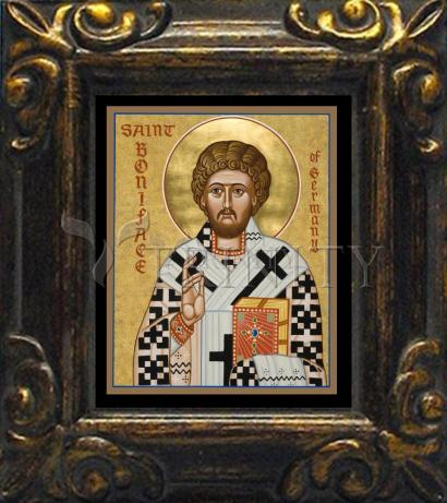Mini Magnet Frame - St. Boniface of Germany by J. Cole
