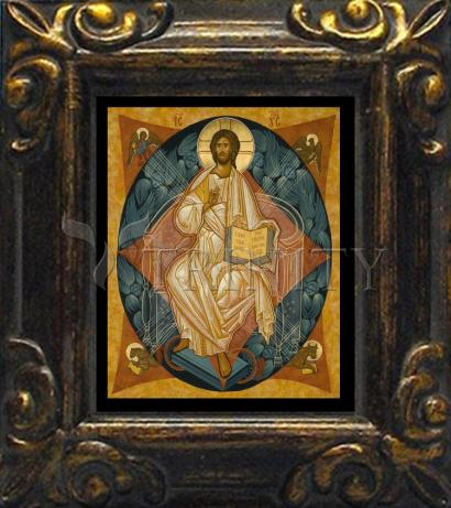 Mini Magnet Frame - Christ Enthroned by J. Cole