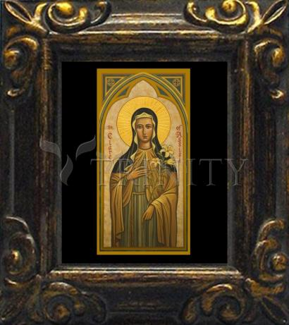Mini Magnet Frame - St. Clare of Assisi by J. Cole