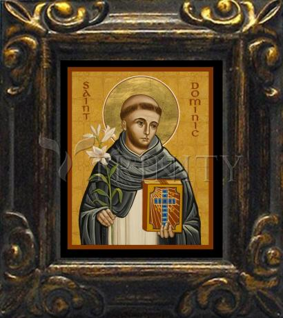 Mini Magnet Frame - St. Dominic by J. Cole