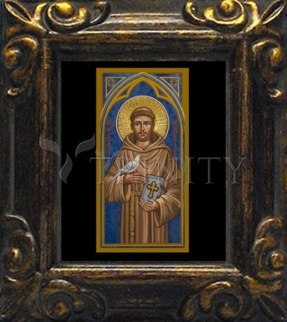 Mini Magnet Frame - St. Francis of Assisi by J. Cole