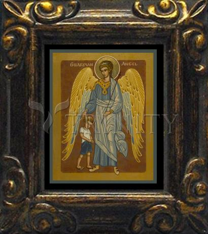 Mini Magnet Frame - Guardian Angel with Boy by J. Cole