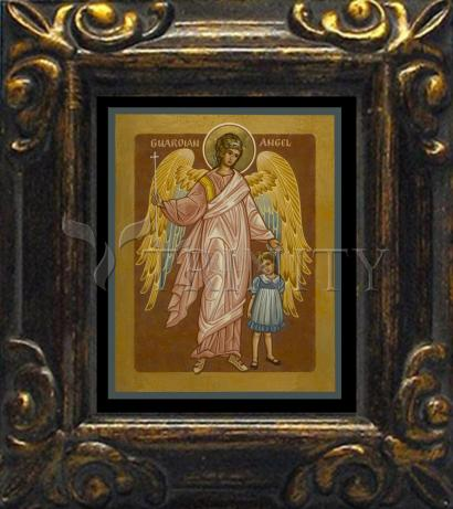 Mini Magnet Frame - Guardian Angel with Girl by J. Cole