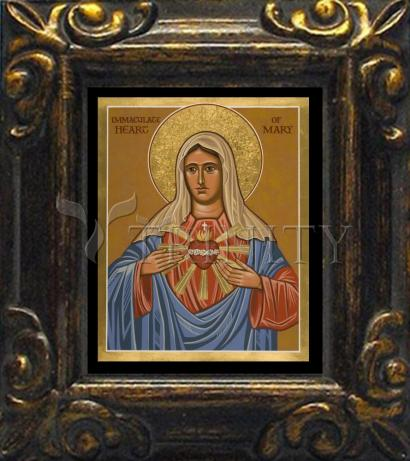 Mini Magnet Frame - Immaculate Heart of Mary by J. Cole