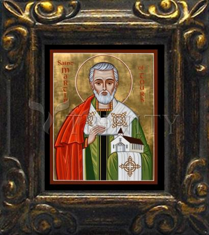 Mini Magnet Frame - St. Martin of Tours by J. Cole