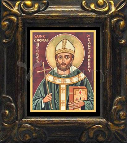 Mini Magnet Frame - St. Thomas Becket by J. Cole